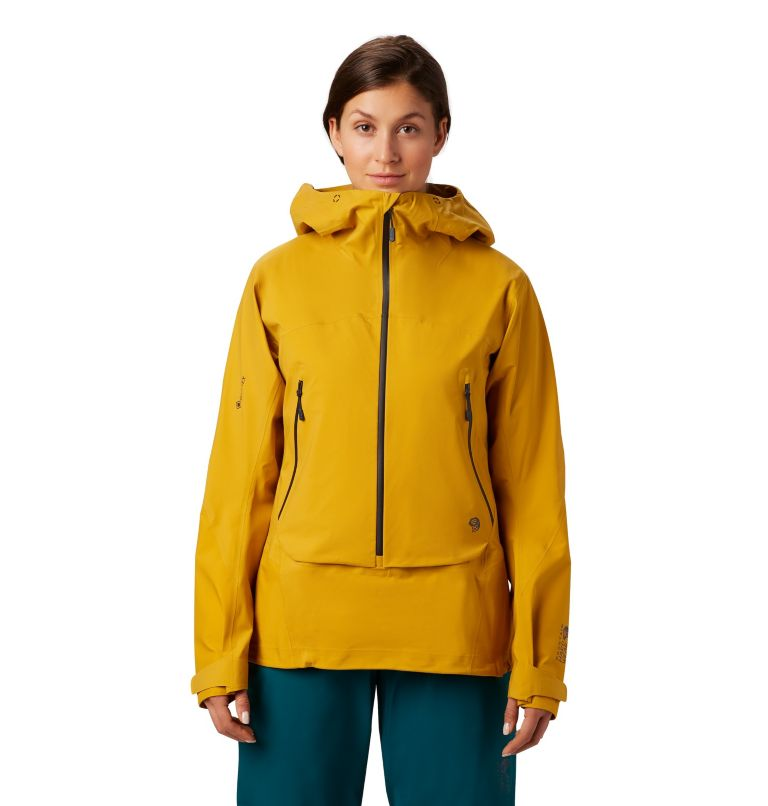 High Exposure™ Gore-Tex® C-Kni | 750 | XS Women's High Exposure™ Gore-Tex® C-Knit™ Anorak, Gold Hour, front