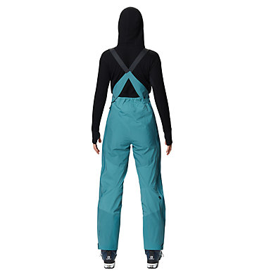 Women's High Exposure™ Gore-Tex® C-Knit™ Bib High Exposure™ Gore-Tex C-Knit™ Bib | 004 | L, Washed Turq, back