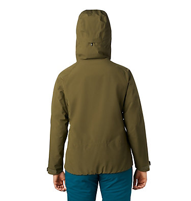 Women's Cloud Bank™ Gore-Tex® Insulated Jacket Cloud Bank™ Gore-Tex® Insulate | 353 | XS, Combat Green, back