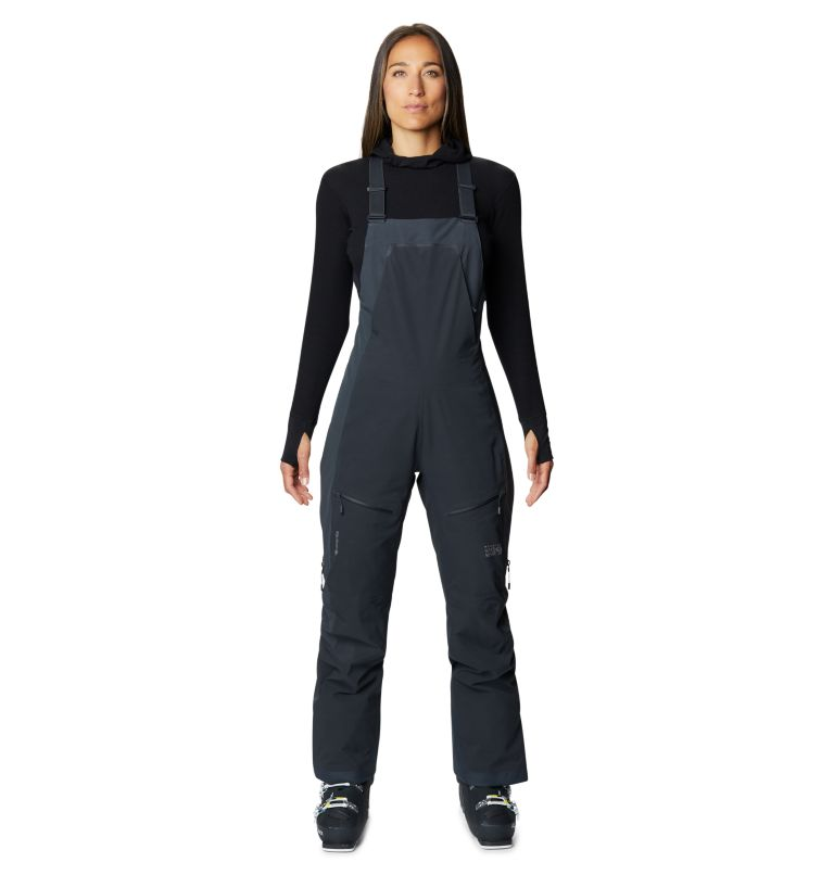 Women's Boundary Line™ Gore-Tex® Insulated Bib Women's Boundary Line™ Gore-Tex® Insulated Bib, front