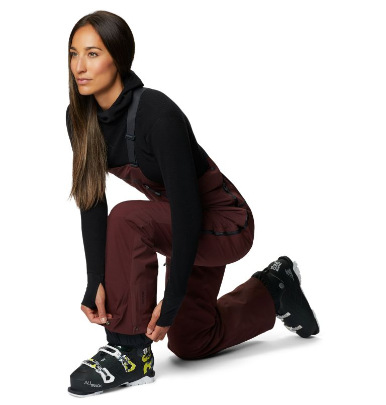 Women's Boundary Line™ Gore-Tex® Insulated Bib Women's Boundary Line™ Gore-Tex® Insulated Bib, a4