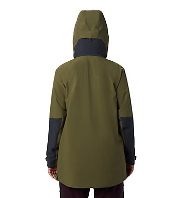 Women's FireFall/2™ Insulated Anorak FireFall/2™ Insulated Anorak | 514 | L, Combat Green, back