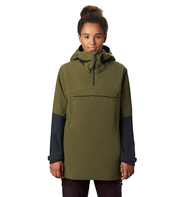 Women's FireFall/2™ Insulated Anorak FireFall/2™ Insulated Anorak | 514 | L, Combat Green, front