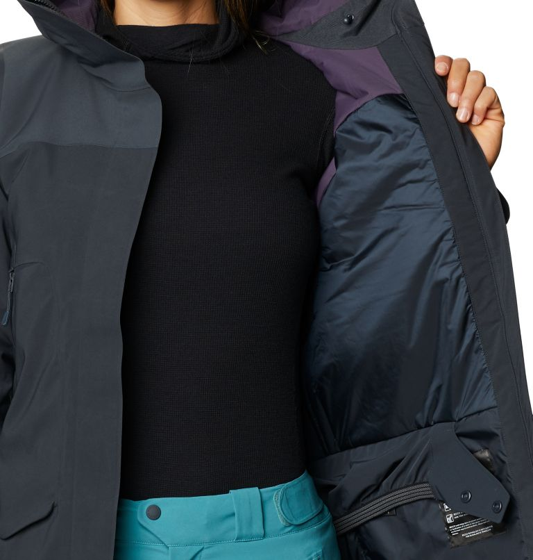 Boundary Line™ Gore-Tex Insulated Jacket | 004 | XL Women's Boundary Line™ Gore-Tex® Insulated Jacket, Dark Storm, a5