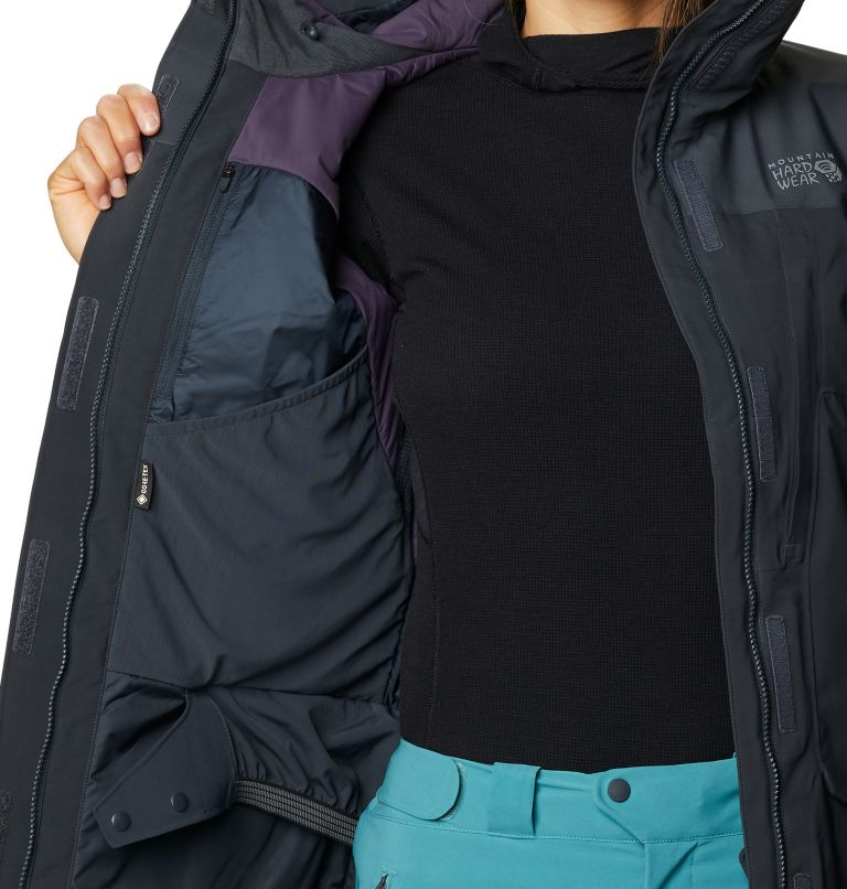 Boundary Line™ Gore-Tex Insulated Jacket | 004 | XL Women's Boundary Line™ Gore-Tex® Insulated Jacket, Dark Storm, a6