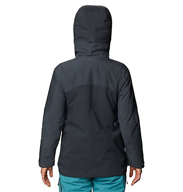 Women's Boundary Line™ Gore-Tex® Insulated Jacket Boundary Line™ Gore-Tex Insulated Jacket | 447 | L, Dark Storm, back