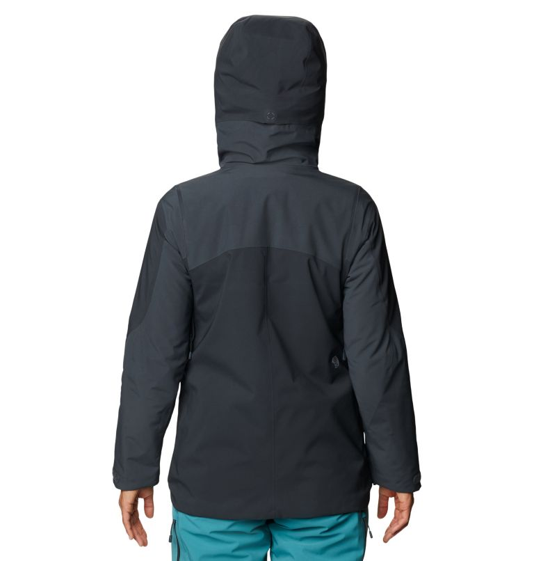 Boundary Line™ Gore-Tex Insulated Jacket | 004 | XL Women's Boundary Line™ Gore-Tex® Insulated Jacket, Dark Storm, back