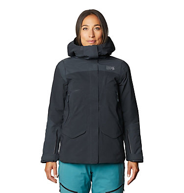 Women's Boundary Line™ Gore-Tex® Insulated Jacket Boundary Line™ Gore-Tex Insulated Jacket | 447 | L, Dark Storm, front