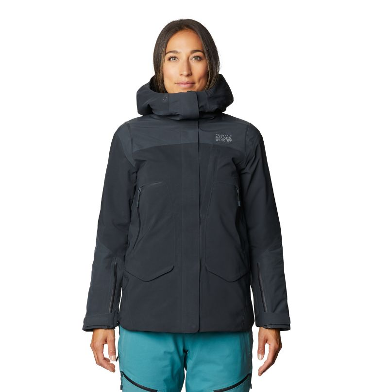 Boundary Line™ Gore-Tex Insulated Jacket | 004 | XL Women's Boundary Line™ Gore-Tex® Insulated Jacket, Dark Storm, front