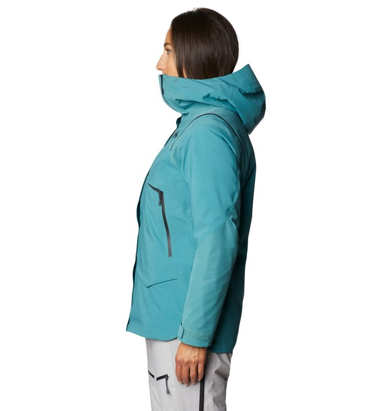 Boundary Line™ Gore-Tex Insulated Jacket | 447 | XL Women's Boundary Line™ Gore-Tex® Insulated Jacket, Washed Turq, a1