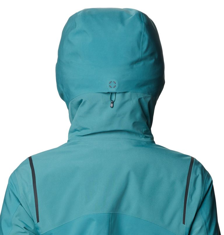 Boundary Line™ Gore-Tex Insulated Jacket | 447 | XL Women's Boundary Line™ Gore-Tex® Insulated Jacket, Washed Turq, a4