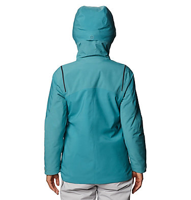 Women's Boundary Line™ Gore-Tex® Insulated Jacket Boundary Line™ Gore-Tex Insulated Jacket | 447 | L, Washed Turq, back