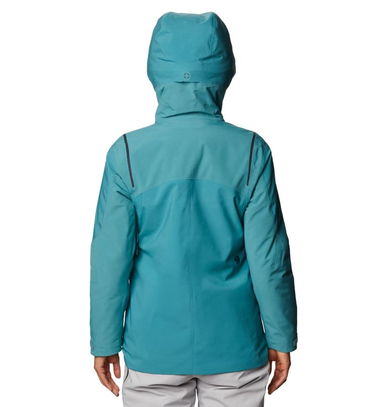 Boundary Line™ Gore-Tex Insulated Jacket | 447 | XL Women's Boundary Line™ Gore-Tex® Insulated Jacket, Washed Turq, back