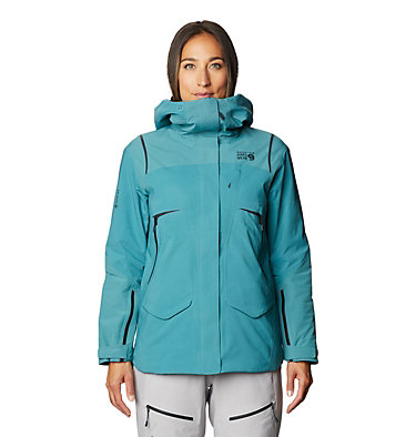 Women's Boundary Line™ Gore-Tex® Insulated Jacket Boundary Line™ Gore-Tex Insulated Jacket | 447 | L, Washed Turq, front