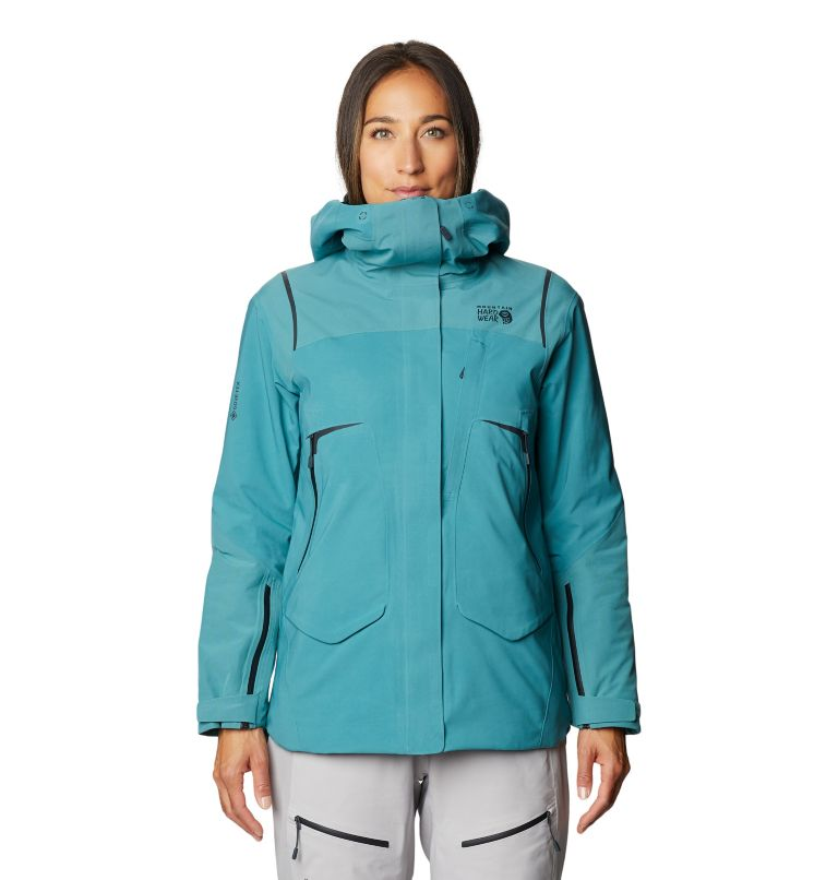 Boundary Line™ Gore-Tex Insulated Jacket | 447 | XL Women's Boundary Line™ Gore-Tex® Insulated Jacket, Washed Turq, front