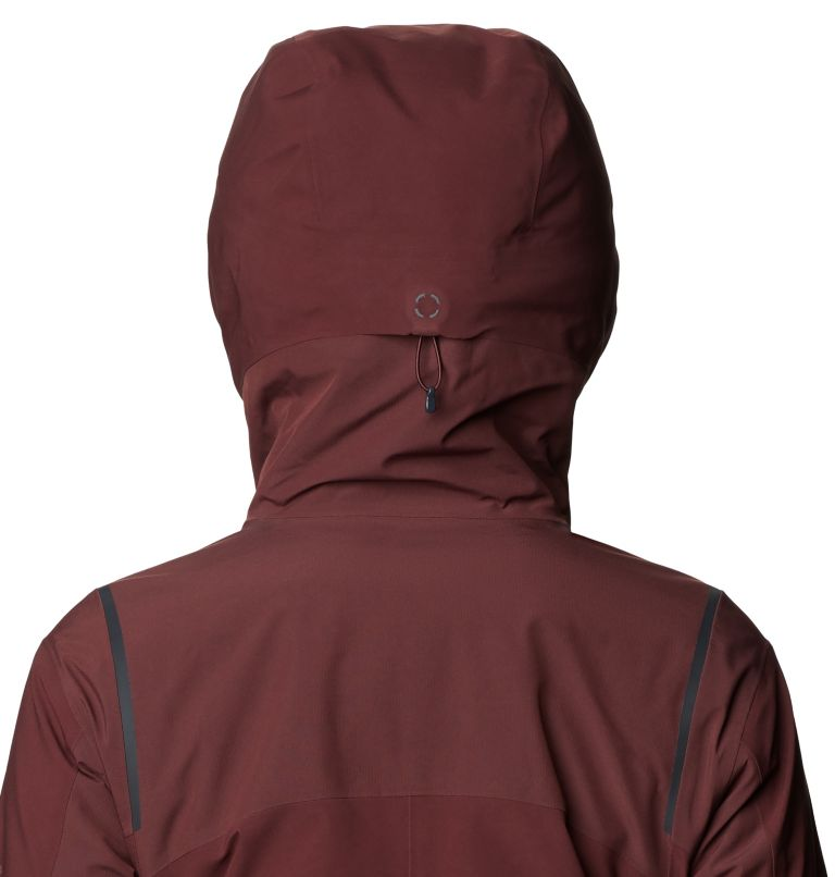 Boundary Line™ Gore-Tex Insulated Jacket | 629 | XS Women's Boundary Line™ Gore-Tex® Insulated Jacket, Washed Raisin, a4