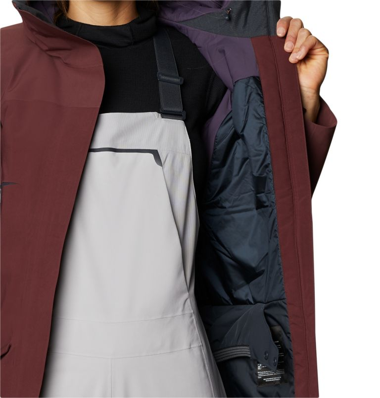 Boundary Line™ Gore-Tex Insulated Jacket | 629 | XL Women's Boundary Line™ Gore-Tex® Insulated Jacket, Washed Raisin, a5