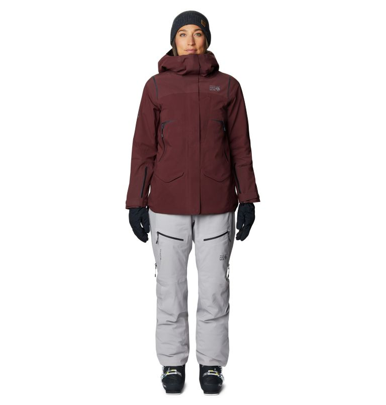 Boundary Line™ Gore-Tex Insulated Jacket | 629 | XS Women's Boundary Line™ Gore-Tex® Insulated Jacket, Washed Raisin, a9