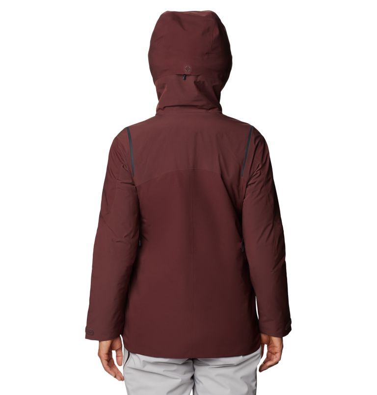 Boundary Line™ Gore-Tex Insulated Jacket | 629 | XS Women's Boundary Line™ Gore-Tex® Insulated Jacket, Washed Raisin, back