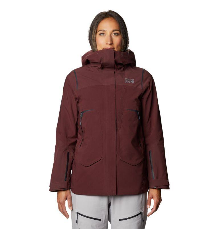 Boundary Line™ Gore-Tex Insulated Jacket | 629 | XS Women's Boundary Line™ Gore-Tex® Insulated Jacket, Washed Raisin, front