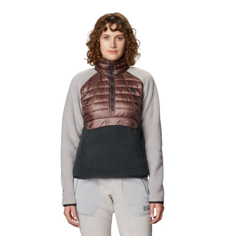 Altius™ Hybrid Pullover | 249 | S Chandail hybride Altius™ Femme, Warm Ash, front