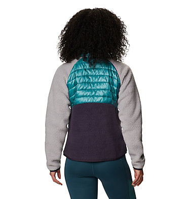 Women's Altius™ Hybrid Pullover Altius™ Hybrid Pullover | 249 | L, Washed Turq, back