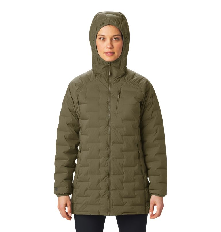 Super/DS™ Stretchdown Parka | 253 | XL Women's Super/DS™ Stretchdown Parka, Raw Clay, a1