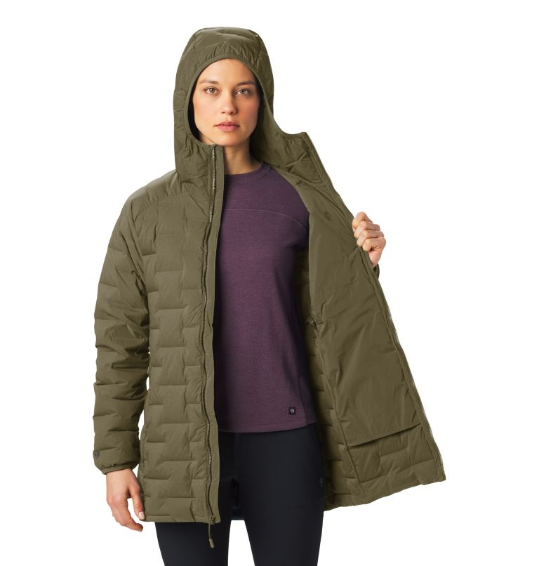 Super/DS™ Stretchdown Parka | 253 | L Women's Super/DS™ Stretchdown Parka, Raw Clay, a3