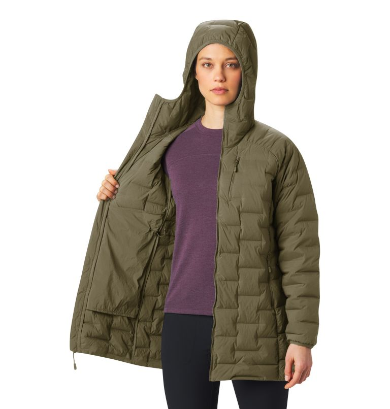 Super/DS™ Stretchdown Parka | 253 | XL Women's Super/DS™ Stretchdown Parka, Raw Clay, a4