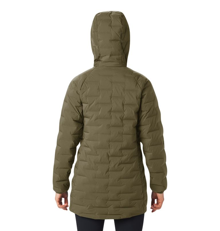 Super/DS™ Stretchdown Parka | 253 | L Women's Super/DS™ Stretchdown Parka, Raw Clay, back