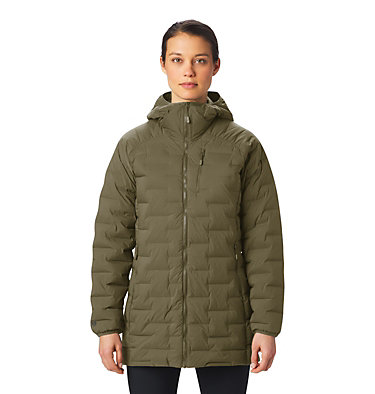 Women's Super/DS™ Stretchdown Parka Super/DS™ Stretchdown Parka | 253 | L, Raw Clay, front