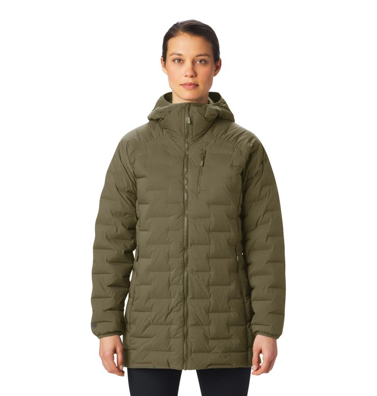 Super/DS™ Stretchdown Parka | 253 | L Women's Super/DS™ Stretchdown Parka, Raw Clay, front