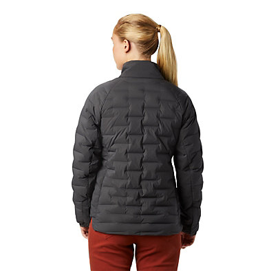 Women's Super/DS™ Stretchdown Shacket Super D/S™ Shirt Jacket | 012 | L, Void, back