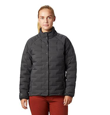 Women's Super/DS™ Stretchdown Shacket Super D/S™ Shirt Jacket | 012 | L, Void, front