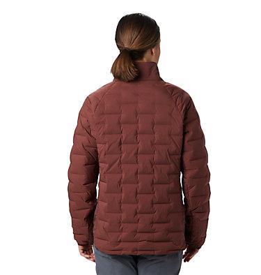 Women's Super/DS™ Stretchdown Shacket Super D/S™ Shirt Jacket | 012 | L, Dark Umber, back