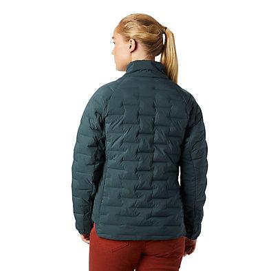 Women's Super/DS™ Stretchdown Shacket Super D/S™ Shirt Jacket | 012 | L, Blue Spruce, back