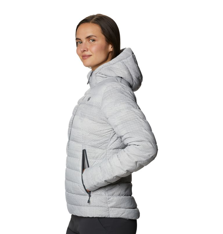 Rhea Ridge™ Hoody | 057 | XS Women's Rhea Ridge/2™ Down Hoody, Light Dunes Woven Print, a1