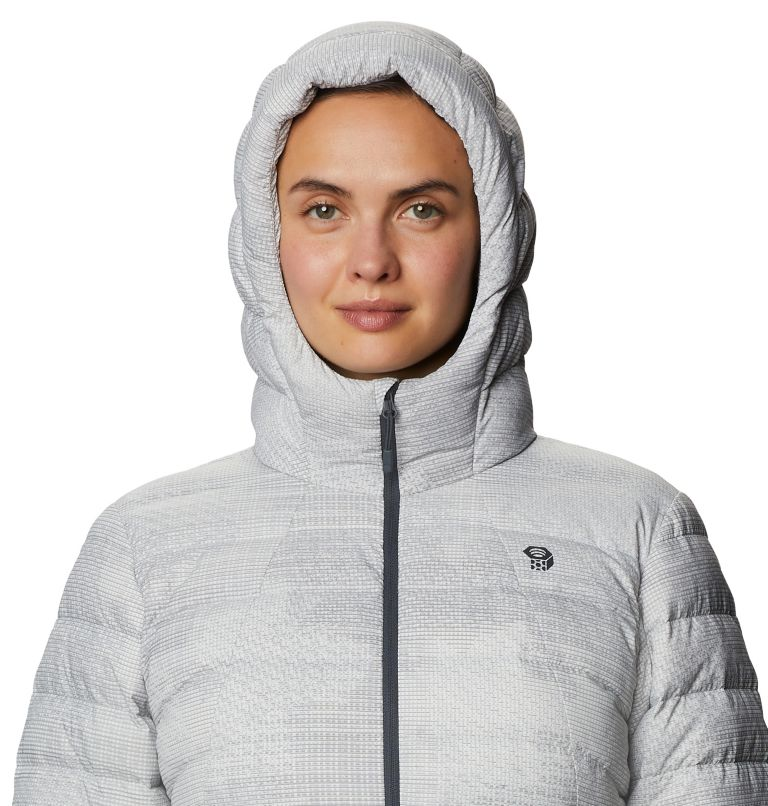 Rhea Ridge™ Hoody | 057 | XS Women's Rhea Ridge/2™ Down Hoody, Light Dunes Woven Print, a2
