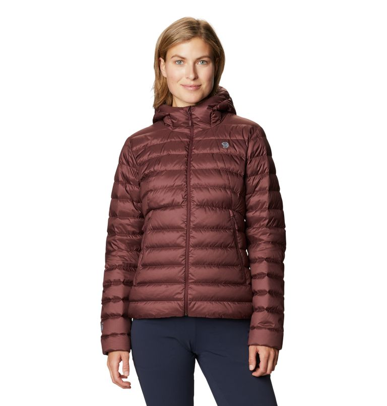 Women's Rhea Ridge/2™ Down Full Zip Hoody Women's Rhea Ridge/2™ Down Full Zip Hoody, front