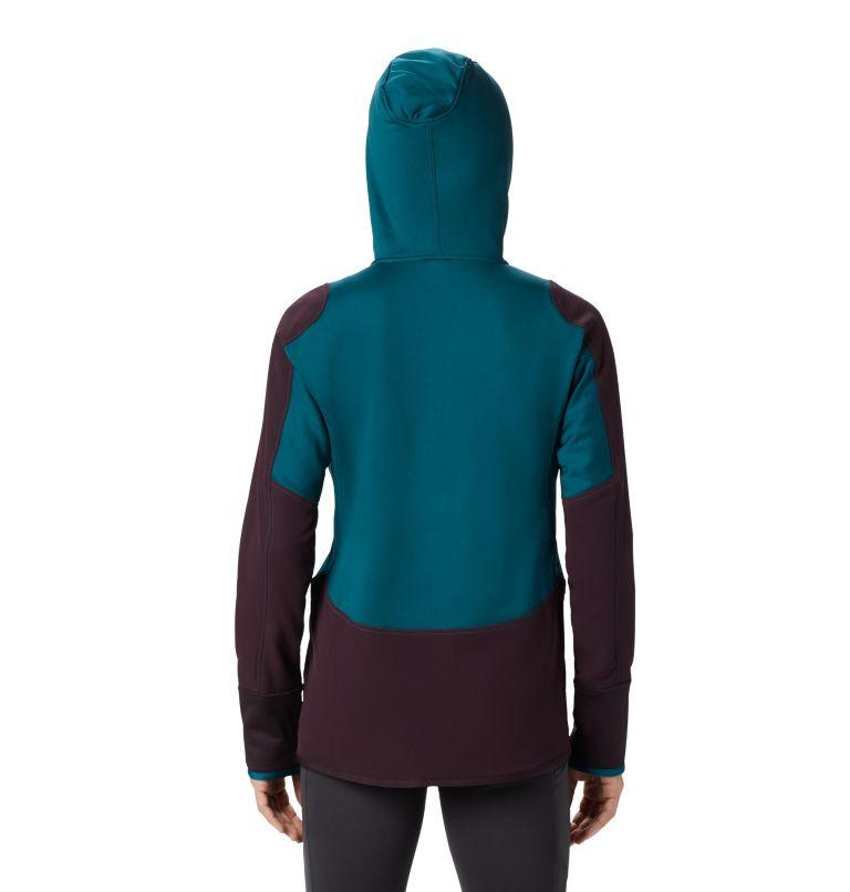 Frostzone™ Hybrid 1/2 Zip Hood | 468 | M Women's Frostzone™ Hybrid 1/2 Zip Hoody, Dive, back