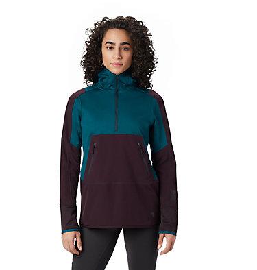 Women's Frostzone™ Hybrid 1/2 Zip Hoody Frostzone™ Hybrid 1/2 Zip Hood   259   L, Dive, front