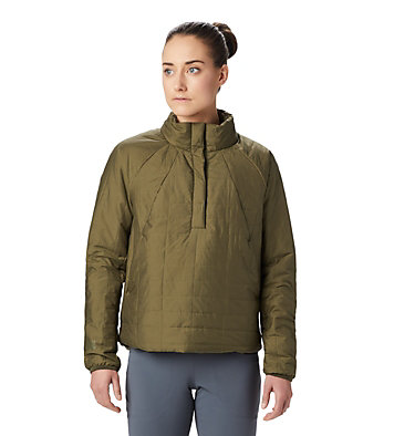 Women's Skylab™ Insulated Pullover Skylab™ Insulated Pullover | 324 | L, Combat Green, front