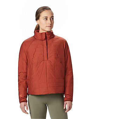Women's Skylab™ Insulated Pullover Skylab™ Insulated Pullover | 324 | L, Rusted, front