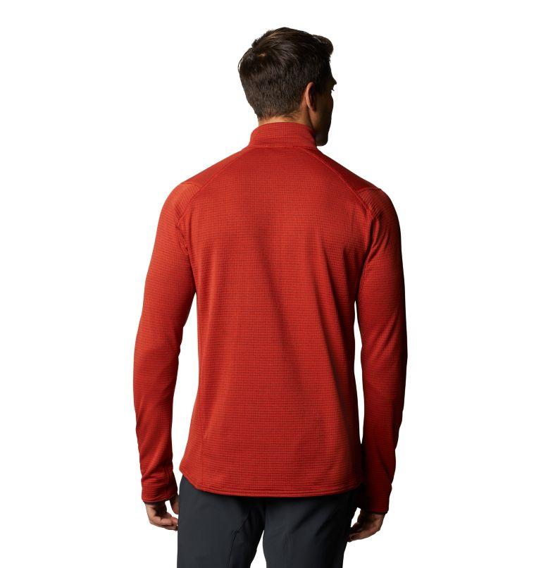 Type 2 Fun™ 3/4 Zip | 831 | M Men's Type 2 Fun™ 3/4 Zip, Desert Red, back