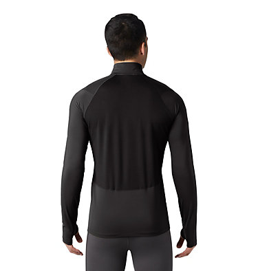 Men's Ghee™ Long Sleeve 1/2 Zip Ghee™ Long Sleeve 1/2 Zip | 305 | L, Black, back