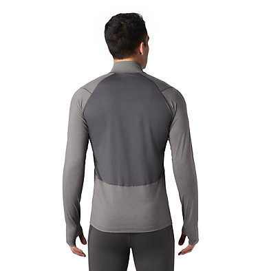 Men's Ghee™ Long Sleeve 1/2 Zip Ghee™ Long Sleeve 1/2 Zip | 305 | L, Heather Shark, back