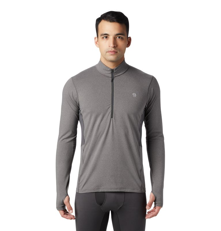 Men's Ghee™ Long Sleeve 1/2 Zip Men's Ghee™ Long Sleeve 1/2 Zip, front