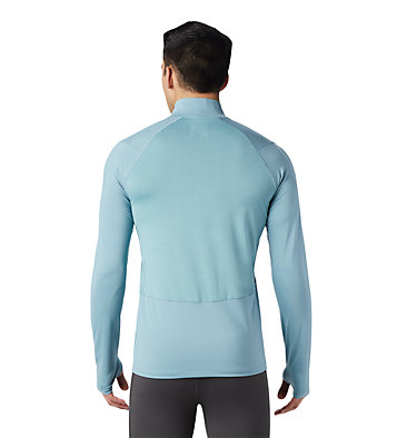 Men's Ghee™ Long Sleeve 1/2 Zip Ghee™ Long Sleeve 1/2 Zip | 305 | L, Peak Blue, back