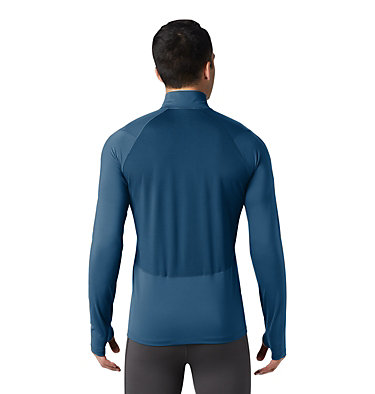 Men's Ghee™ Long Sleeve 1/2 Zip Ghee™ Long Sleeve 1/2 Zip | 305 | L, Blue Horizon, back