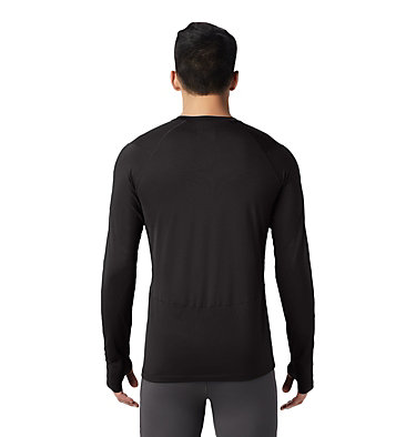 Men's Ghee™ Long Sleeve Crew Ghee™ Long Sleeve Crew | 016 | L, Black, back